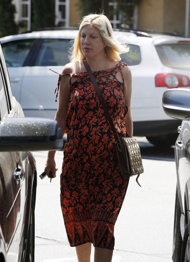 Tori Spelling le 19 août 2012 à Los Angeles