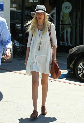 Tori Spelling à Los Angeles le 29 avril 2014