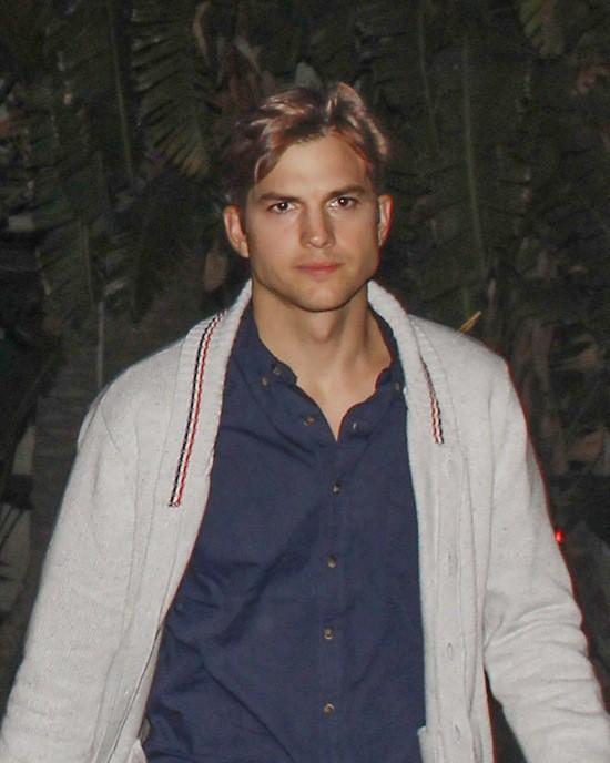 Ashton Kutcher avant