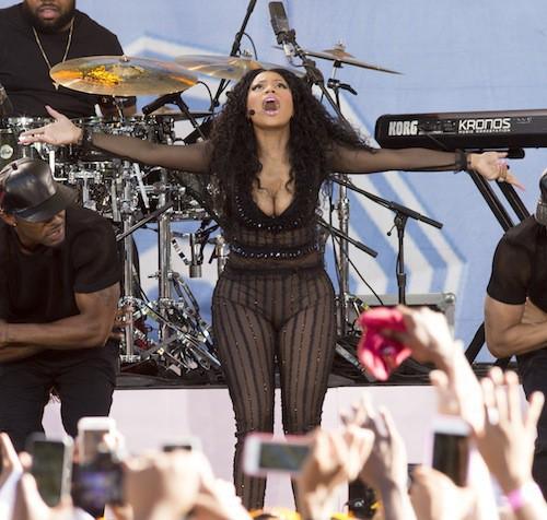 Photos : très en formes, Nicki Minaj revient sur son clash avec Taylor Swift !