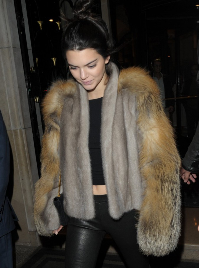 Kendall Jenner le 2 octobre 2015