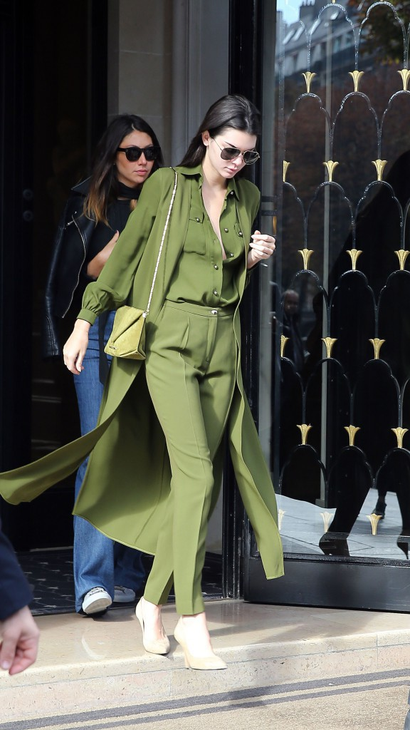 Kendall Jenner le 3 octobre 2015