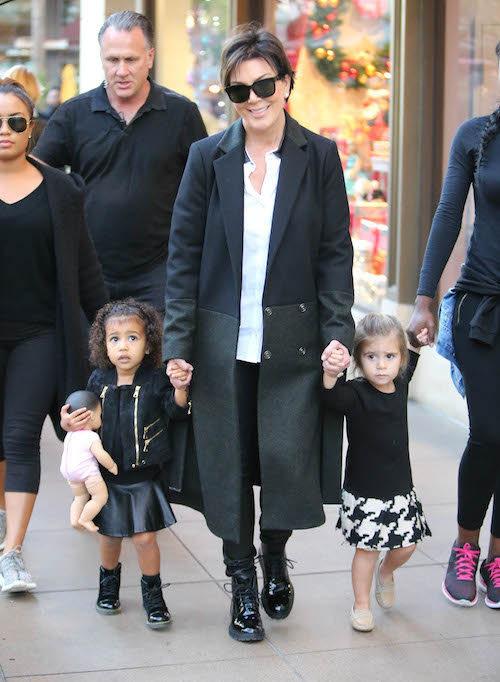 Photos : trop chou, North West et Penelope Disick volent la vedette à Kris Jenner !