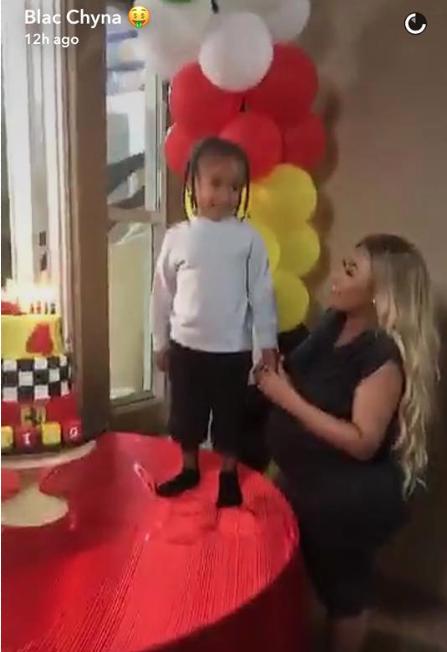 Tyga offre un anniversaire fastueux à King Cairo