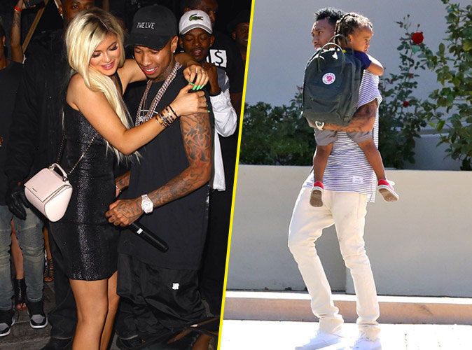"Photos : Tyga : papa poule et in love de Kylie Jenner : ""On ignore la négativité"" !"