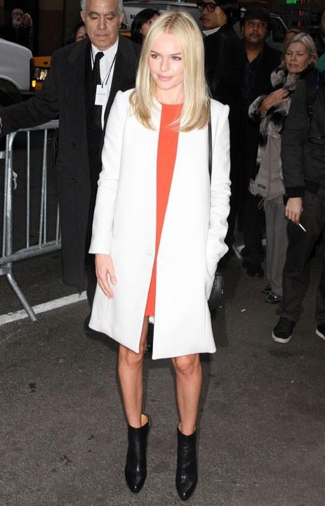 Kate Bosworth au défilé Calvin Klein à new York, le 17 février 2011.