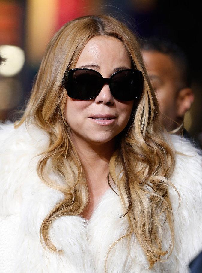 Mariah Carey le 25 novembre 2015