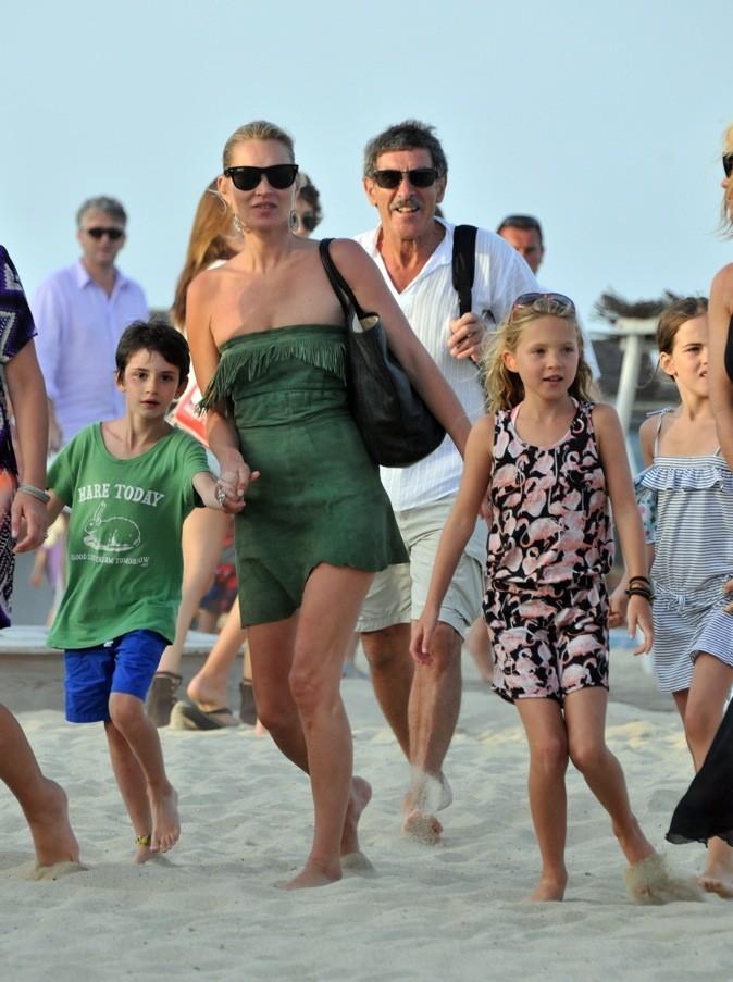 Kate Moss a Saint Tropez avec sa fille !