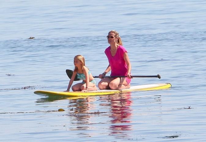 Pour Heidi Klum, c'est vacances sportives !