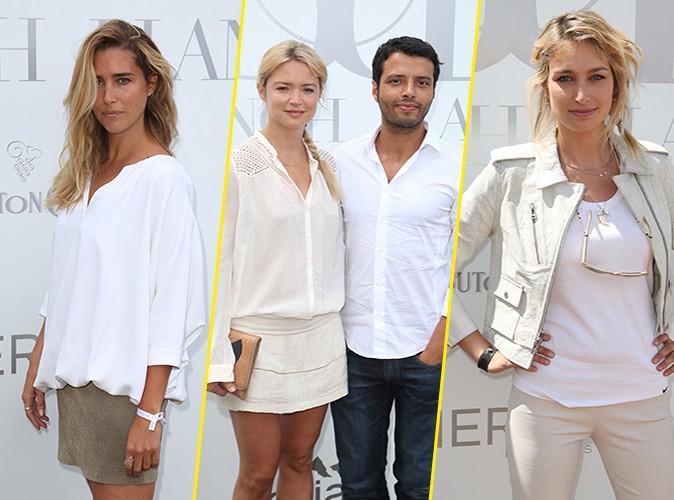 Vahina Giocante, Virginie Efira, Pauline Lef�vre : toutes sublimes en blanc pour une sortie tr�s VIP � Paris !