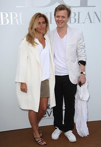 Vahina Giocante et Alex Lutz à Paris le 29 juin 2014