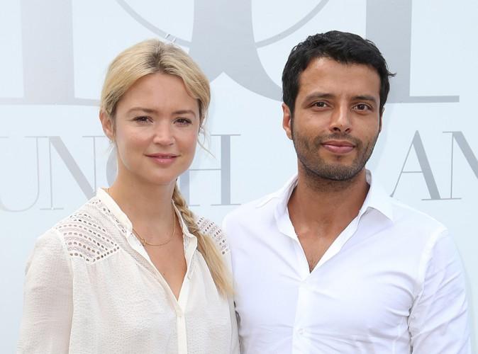 Virginie Efira et Mabrouk El Mechri à Paris le 29 juin 2014