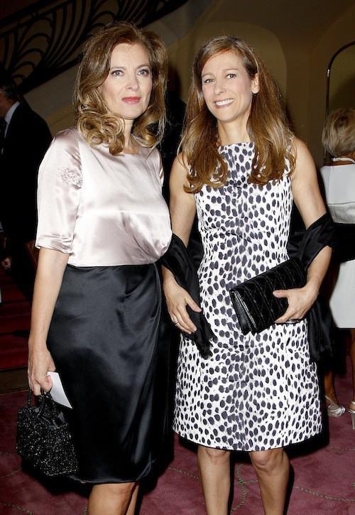 Valérie Trierweiler et son amie, Anne Gravoin