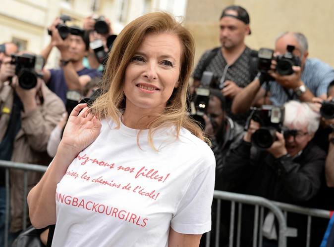 Valérie Trierweiler à Paris le 7 juillet 2014