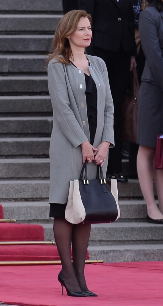 Valérie Trierweiler, Paris, 25 avril 2013.