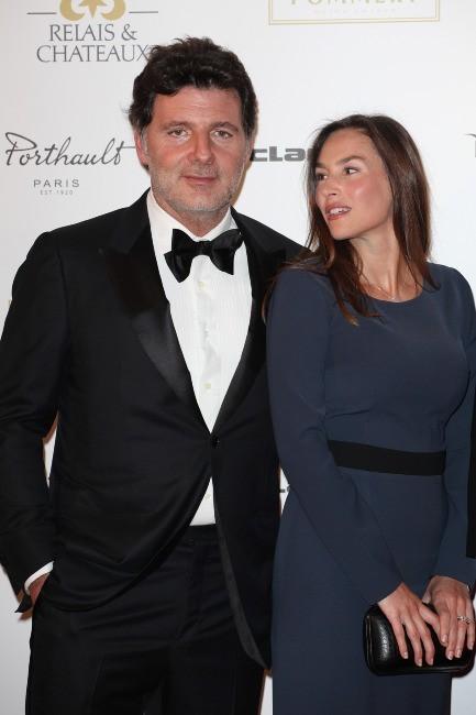 Vanessa Demouy et son mari