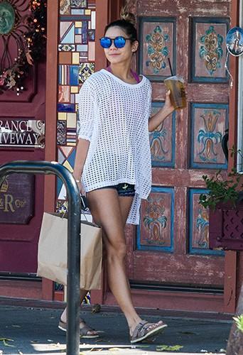 Vanessa Hudgens à Los Angeles le 17 septembre 2014