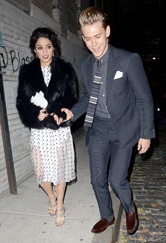 Austin Butler et Vanessa Hudgens à New-York le 11 novembre 2013