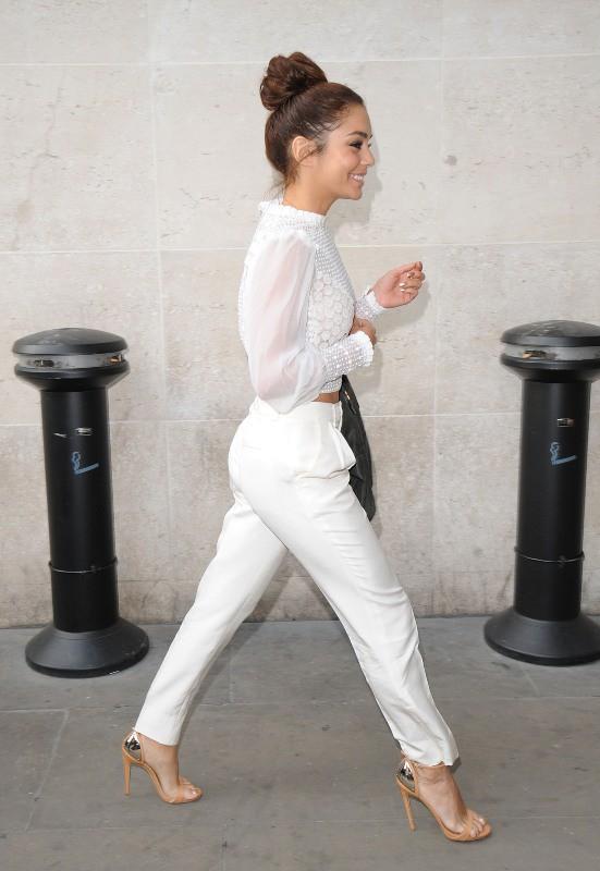 Vanessa Hudgens en promo à Londres, le 16 juillet 2013.