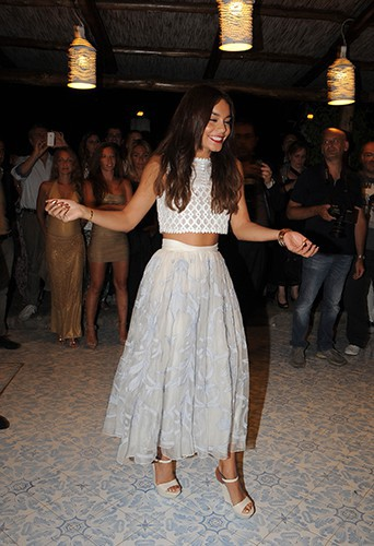 Vanessa Hudgens à Ischia le 22 juillet 2013