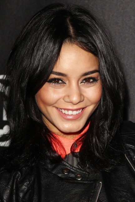 "Vanessa Hudgens lors du lancement de la collection ""L'Amour by Nanette Lepore"" à New York, le 24 janvier 2013."