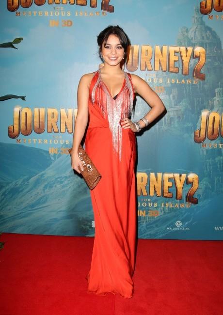 Vanessa Hudgens lors de la première du film Voyage au centre de la terre 2 à Sydney, le 17 janvier 2012.