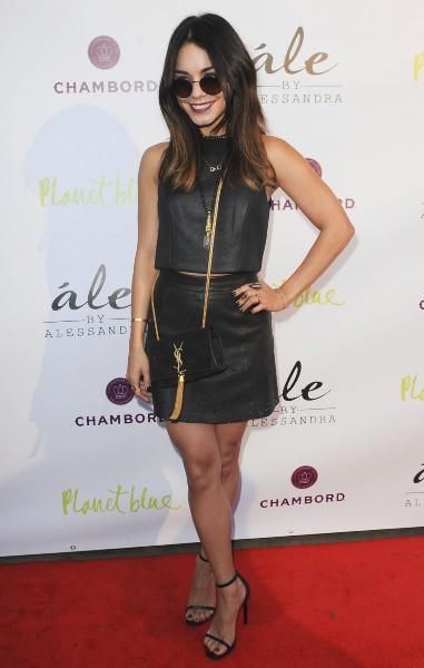 Vanessa Hudgens lors de la soirée de lancement de la marque Ale by Alessandra à Los Angeles, le 13 mars 2014.