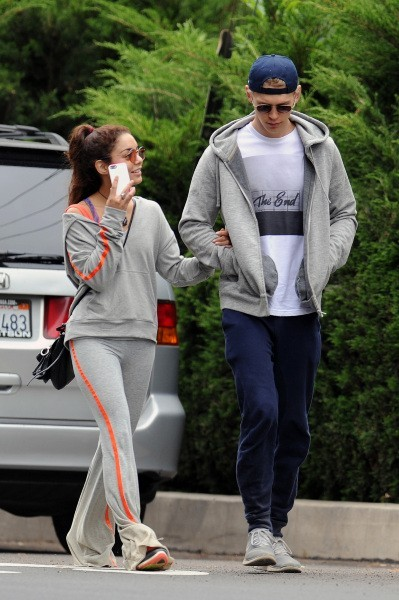 Vanessa Hudgens et Austin Butler, Los Angeles, 3 mai 2013.