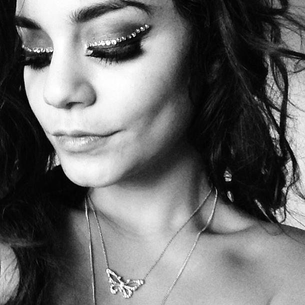 Le make-up d'anniversaire des 25 ans de Vanessa Hudgens.