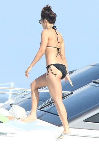 Vanessa Hudgens en Italie le 19 juillet 2013