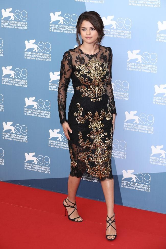 Selena Gomez le 5 septembre 2012 à Venise