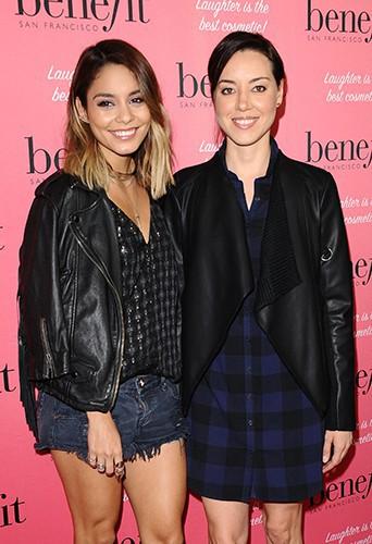 Vanessa Hudgens et Aubrey Plaza à Los Angeles le 26 septembre 2014