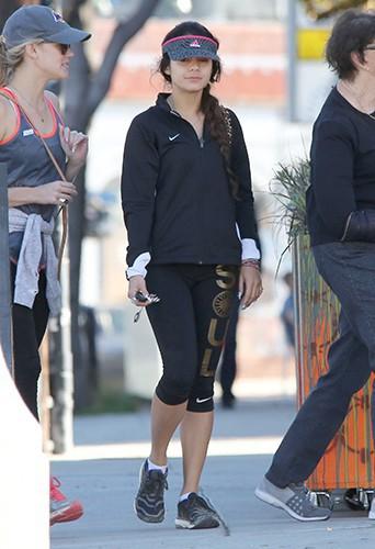 Vanessa Hudgens à Hollywood le 2 janvier 2014