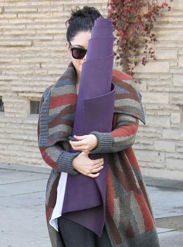 Vanessa Hudgens le 26 décembre 2012 à Studio City