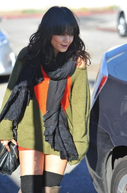 Vanessa Hudgens à Los Angeles, le 24 décembre 2011.