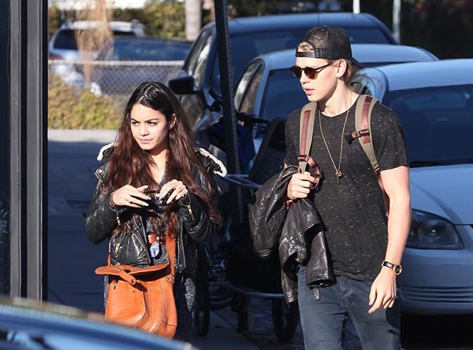Vanessa Hudgens et Austin Butler à Los Angeles le 29 décembre 2013