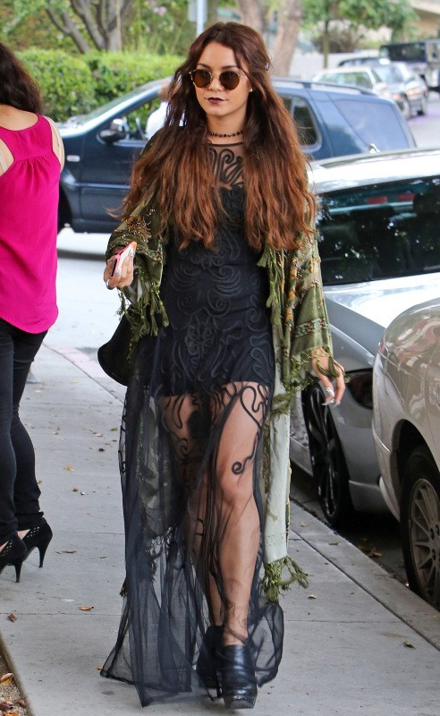 Vanessa Hudgens à West Hollywood, le 16 mai 2013.