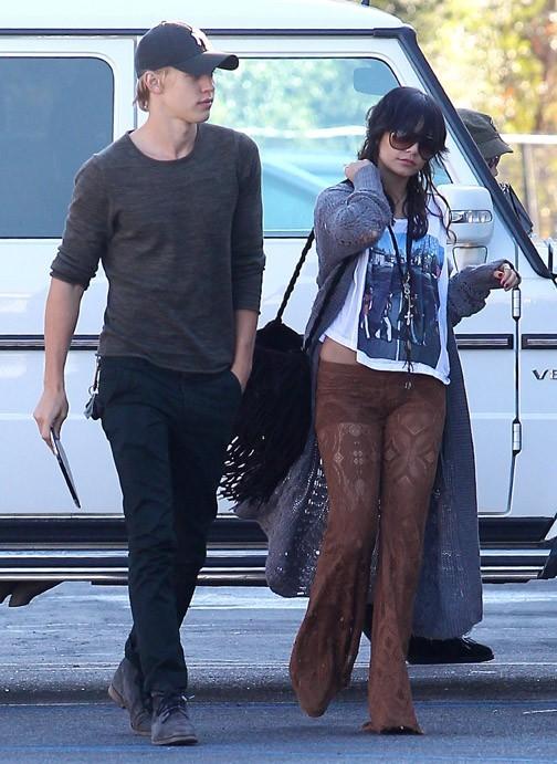 Vanessa dans les rues de Los Angeles avec Austin !