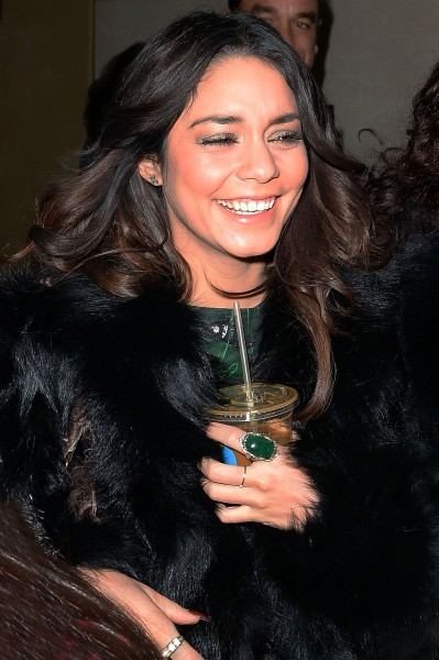 Vanessa Hudgens en promo à New York, le 23 janvier 2014.