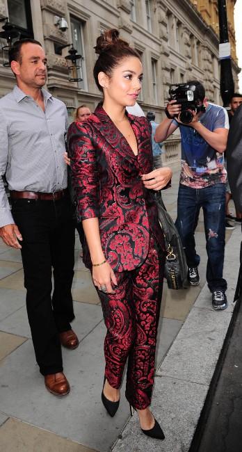 Vanessa Hudgens à Londres, le 16 juillet 2013.