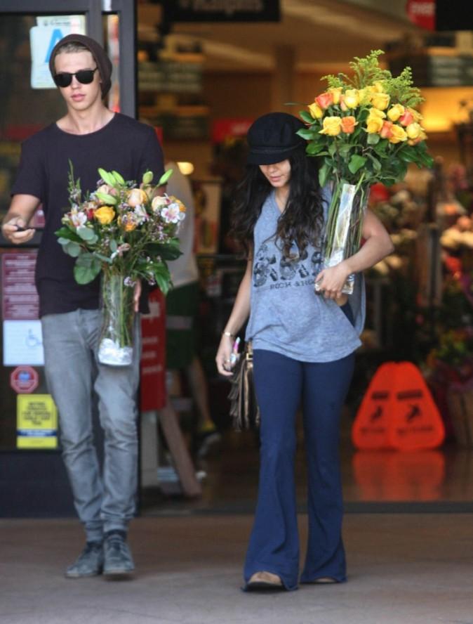 Partie chercher des fleurs pour sa maman ?