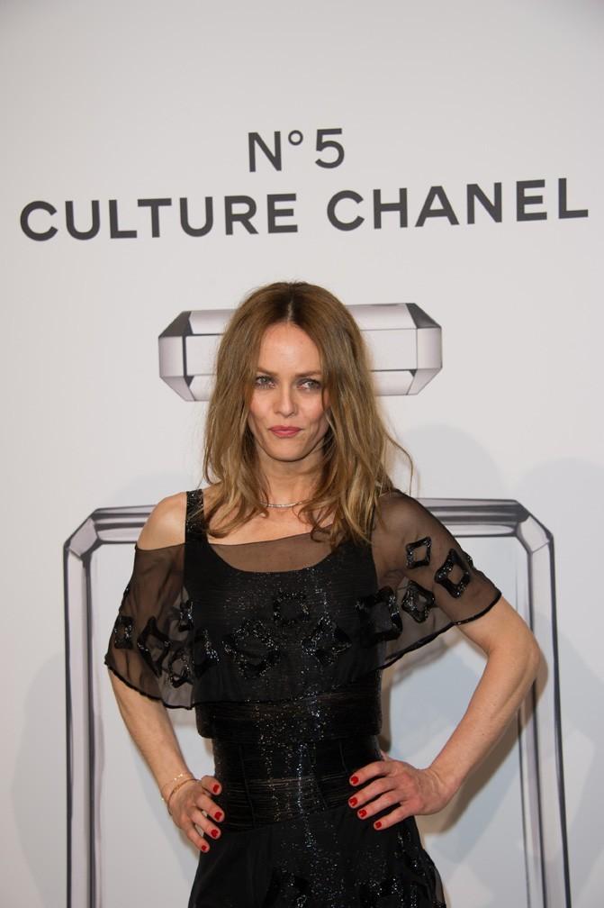 Vanessa Paradis au Palais de Tokyo de Paris le 3 mai 2013