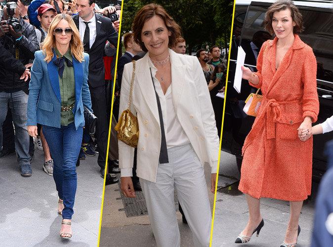 Vanessa Paradis, Inès de la Fressange, Milla Jovovich... Seconde vague d'invitées prestigieuses au défilé Chanel !