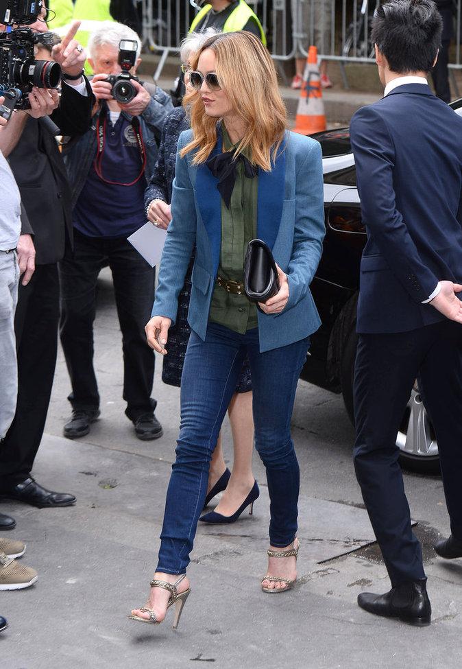 Vanessa Paradis à Paris le 5 juillet 2016