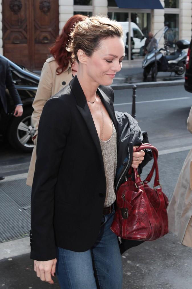 Vanessa Paradis à Paris, le 29 avril 2014.