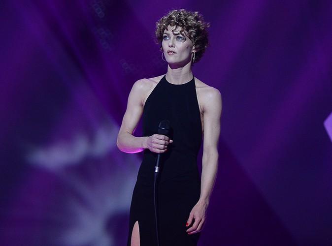 Vanessa Paradis à Paris le 14 février 2014