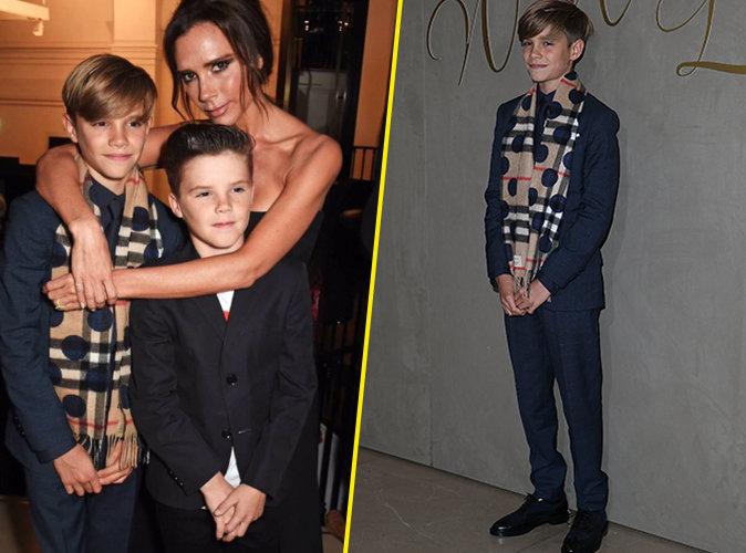Victoria Beckham combl�e et fi�re de son Romeo !