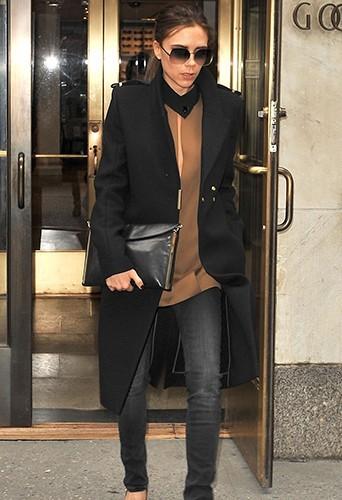 Victoria dans les rues de New-York au mois de février 2013