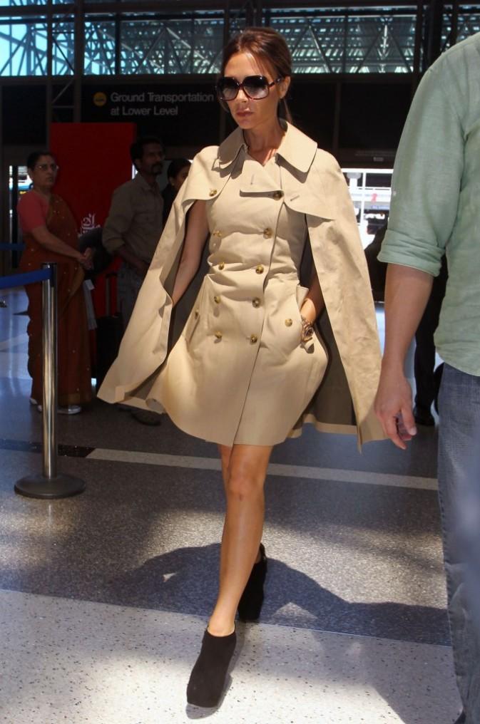 Victoria Beckham à l'aéroport de Los Angeles, le 24 juin 2012.