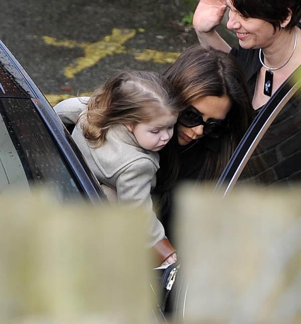 Victoria Beckham à Hertfordshire, dans la banlieue de Londres le 16 mars 2013